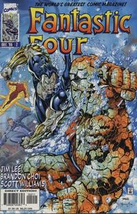 Cover Thumbnail for Fantastic Four (Marvel, 1996 series) #2 [Direct Edition]