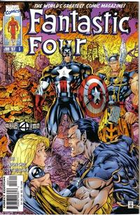 Cover Thumbnail for Fantastic Four (Marvel, 1996 series) #3 [Direct Edition]