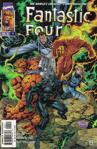 Cover Thumbnail for Fantastic Four (Marvel, 1996 series) #4 [Direct Edition]