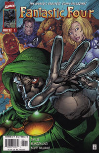 Cover Thumbnail for Fantastic Four (Marvel, 1996 series) #5 [Direct Edition]