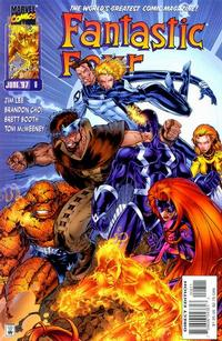Cover Thumbnail for Fantastic Four (Marvel, 1996 series) #8 [Direct Edition]