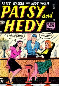 Cover Thumbnail for Patsy and Hedy (Marvel, 1952 series) #12