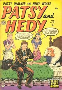 Cover Thumbnail for Patsy and Hedy (Marvel, 1952 series) #13