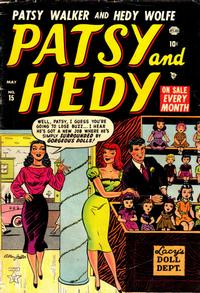 Cover Thumbnail for Patsy and Hedy (Marvel, 1952 series) #15