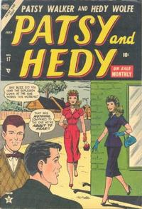 Cover Thumbnail for Patsy and Hedy (Marvel, 1952 series) #17