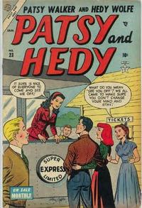 Cover Thumbnail for Patsy and Hedy (Marvel, 1952 series) #23