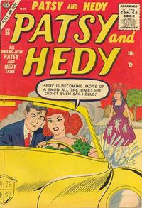 Cover Thumbnail for Patsy and Hedy (Marvel, 1952 series) #38