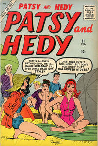 Cover Thumbnail for Patsy and Hedy (Marvel, 1952 series) #61