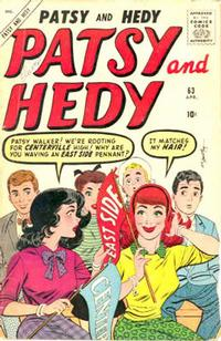 Cover Thumbnail for Patsy and Hedy (Marvel, 1952 series) #63