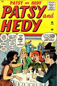 Cover Thumbnail for Patsy and Hedy (Marvel, 1952 series) #65