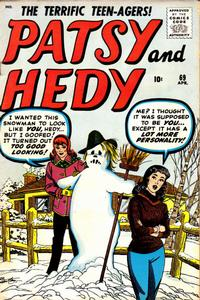 Cover Thumbnail for Patsy and Hedy (Marvel, 1952 series) #69