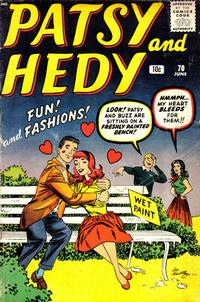 Cover Thumbnail for Patsy and Hedy (Marvel, 1952 series) #70