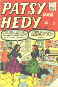 Cover Thumbnail for Patsy and Hedy (Marvel, 1952 series) #71