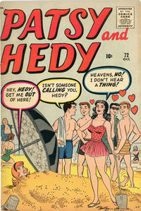 Cover Thumbnail for Patsy and Hedy (Marvel, 1952 series) #72