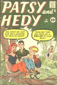 Cover Thumbnail for Patsy and Hedy (Marvel, 1952 series) #78