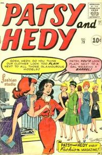 Cover Thumbnail for Patsy and Hedy (Marvel, 1952 series) #79