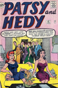 Cover Thumbnail for Patsy and Hedy (Marvel, 1952 series) #82