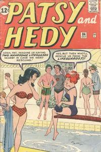 Cover Thumbnail for Patsy and Hedy (Marvel, 1952 series) #84