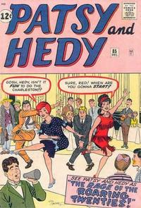 Cover Thumbnail for Patsy and Hedy (Marvel, 1952 series) #85