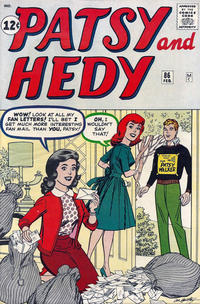 Cover Thumbnail for Patsy and Hedy (Marvel, 1952 series) #86