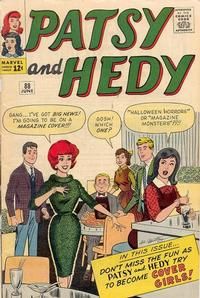 Cover Thumbnail for Patsy and Hedy (Marvel, 1952 series) #88