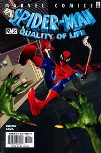 Cover Thumbnail for Spider-Man: Quality of Life (Marvel, 2002 series) #3