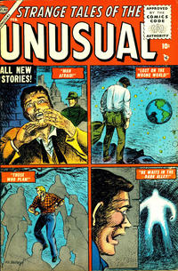 Cover Thumbnail for Strange Tales of the Unusual (Marvel, 1955 series) #2
