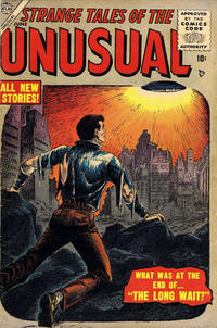 Cover Thumbnail for Strange Tales of the Unusual (Marvel, 1955 series) #4