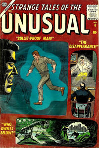 Cover Thumbnail for Strange Tales of the Unusual (Marvel, 1955 series) #8