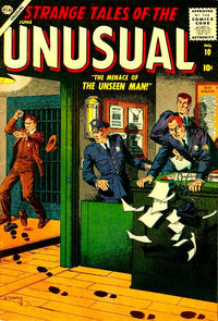 Cover Thumbnail for Strange Tales of the Unusual (Marvel, 1955 series) #10