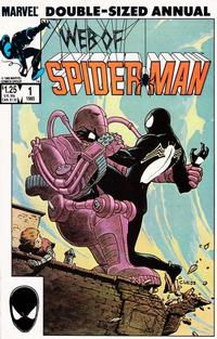 Cover Thumbnail for Web of Spider-Man Annual (Marvel, 1985 series) #1 [Direct]