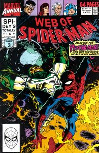 Cover Thumbnail for Web of Spider-Man Annual (Marvel, 1985 series) #6 [Direct Edition]