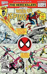 Cover Thumbnail for Web of Spider-Man Annual (Marvel, 1985 series) #8 [Direct]