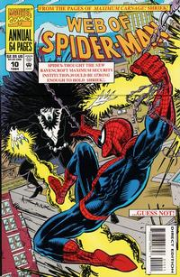 Cover Thumbnail for Web of Spider-Man Annual (Marvel, 1985 series) #10 [Direct Edition]