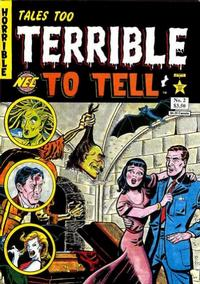 Cover Thumbnail for Tales Too Terrible to Tell (New England Comics, 1989 series) #2