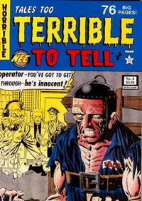 Cover for Tales Too Terrible to Tell (New England Comics, 1989 series) #4