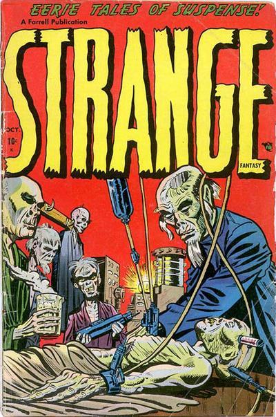 Cover for Strange Fantasy (Farrell, 1952 series) #2