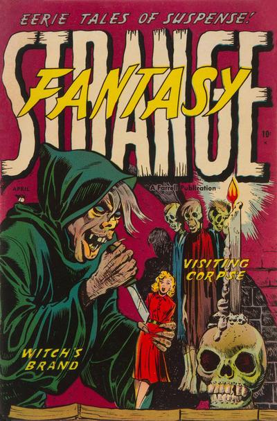 Cover for Strange Fantasy (Farrell, 1952 series) #5