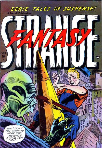 Cover for Strange Fantasy (Farrell, 1952 series) #6