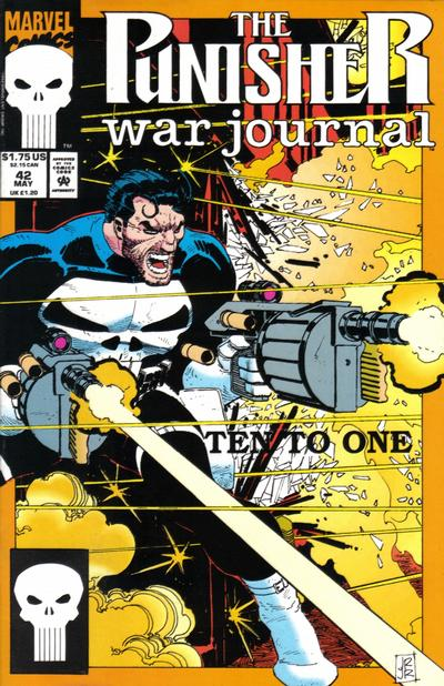 Cover for The Punisher War Journal (Marvel, 1988 series) #42