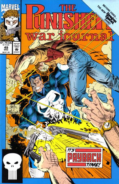 Cover for The Punisher War Journal (Marvel, 1988 series) #49
