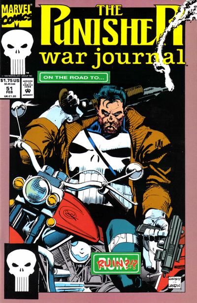 Cover for The Punisher War Journal (Marvel, 1988 series) #51