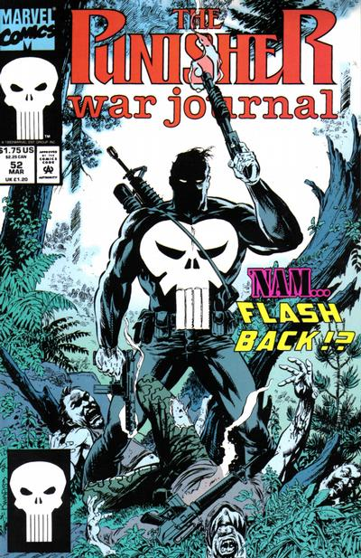 Cover for The Punisher War Journal (Marvel, 1988 series) #52