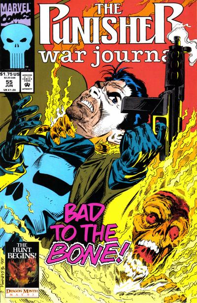 Cover for The Punisher War Journal (Marvel, 1988 series) #55