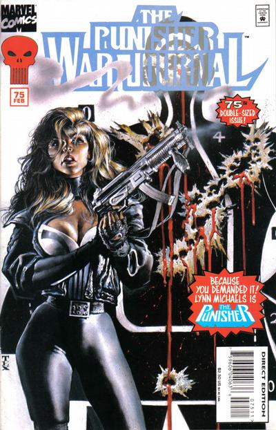 Cover for The Punisher War Journal (Marvel, 1988 series) #75
