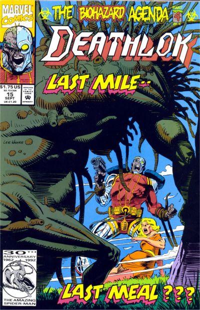 Cover for Deathlok (Marvel, 1991 series) #15 [Direct]