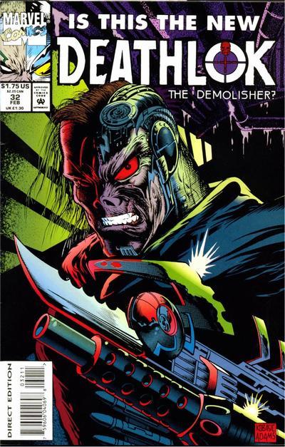 Cover for Deathlok (Marvel, 1991 series) #32