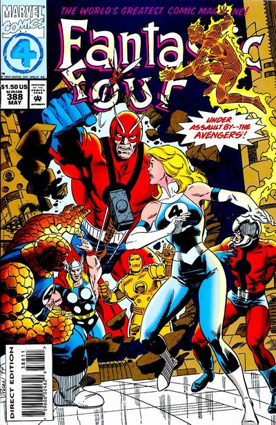 Cover for Fantastic Four (Marvel, 1961 series) #388 [Direct Edition]