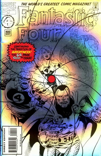 Cover for Fantastic Four (Marvel, 1961 series) #400 [Newsstand]