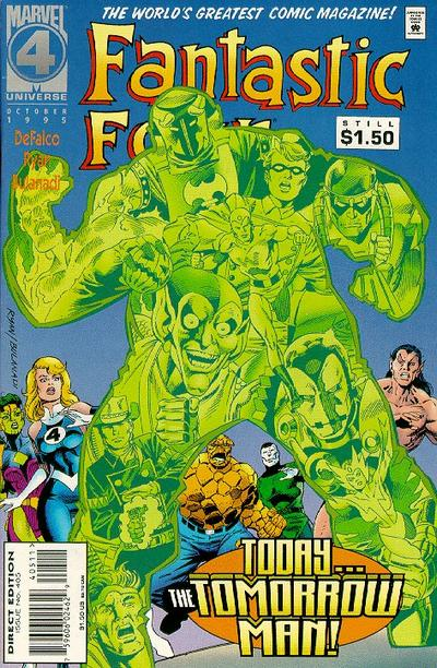 Cover for Fantastic Four (Marvel, 1961 series) #405 [Direct Edition]
